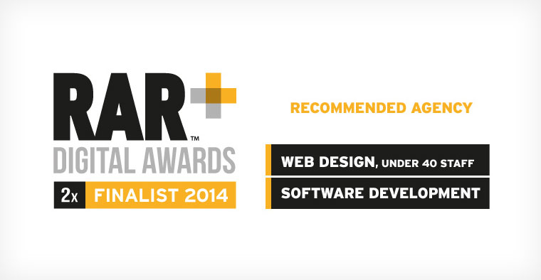 NXT Shortlisted for 2 UK Digital Industry Awards by RAR