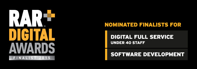 NXT shortlisted (again) for the RAR Digital Awards 2015